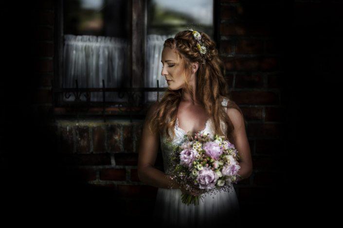 Svatební fineart portrét